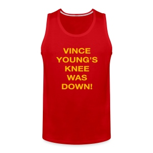 Vince Young's Knee Was Down - Men's Premium Tank