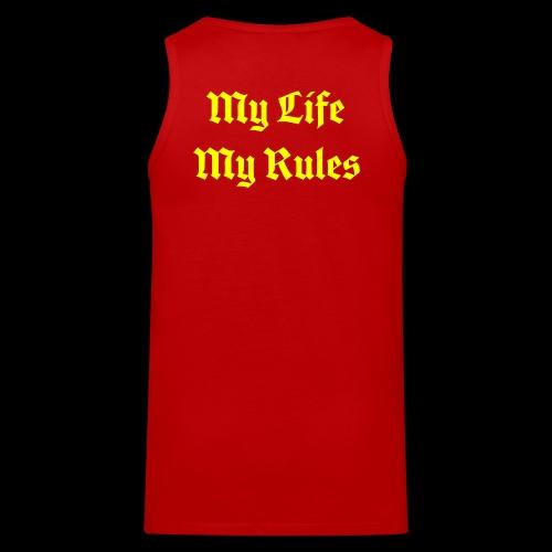 My Life My Rules - Men's Premium Tank