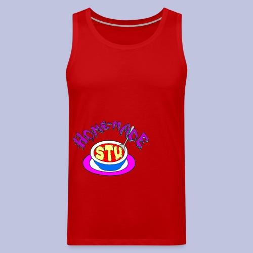home made stu Logo - Men's Premium Tank