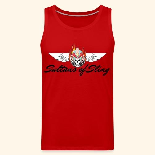 Sultans of Sling Shirt Logo - Men's Premium Tank