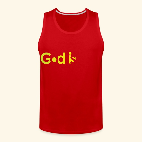 GOD IS #7 - Men's Premium Tank