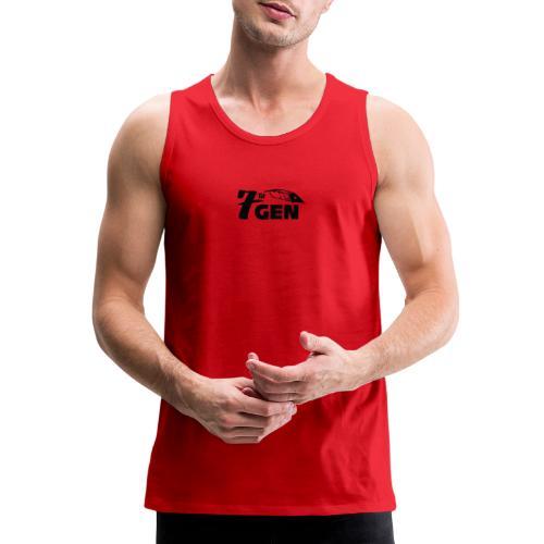7thGen logo - Men's Premium Tank
