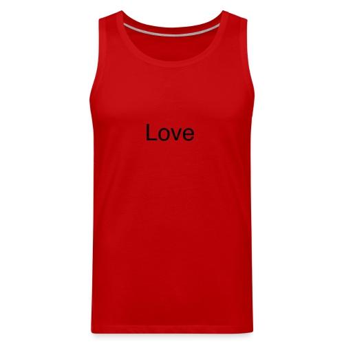 Love - Men's Premium Tank