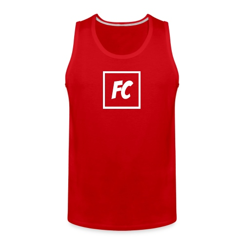 Filthy Casuals Logo/Text Sleeveless - Men's Premium Tank