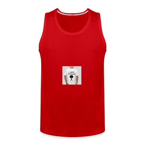 love myself - Men's Premium Tank