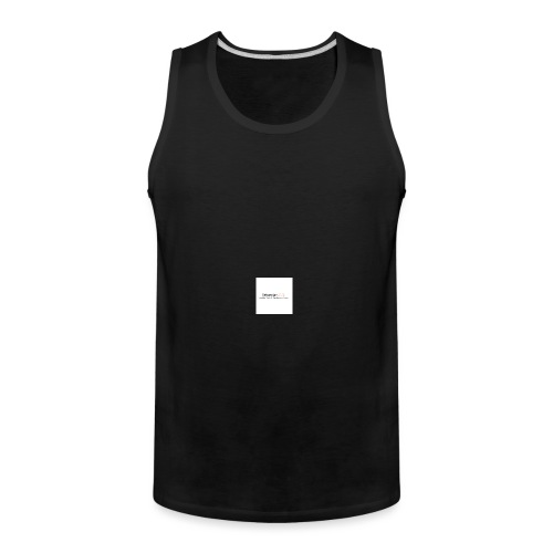 YouTube Channel - Men's Premium Tank