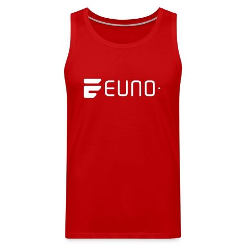 EUNO LOGO LANDSCAPE WHITE - Men's Premium Tank
