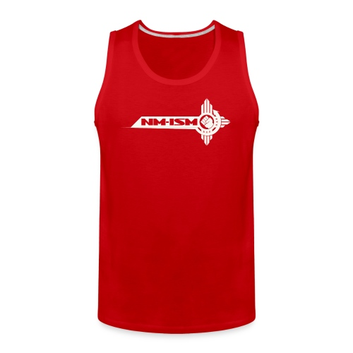 White NM-ISM Logo - Men's Premium Tank