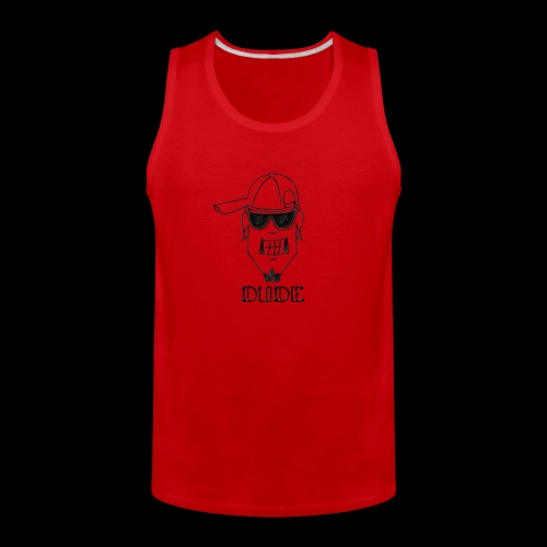 Dude Head 2 - Men's Premium Tank