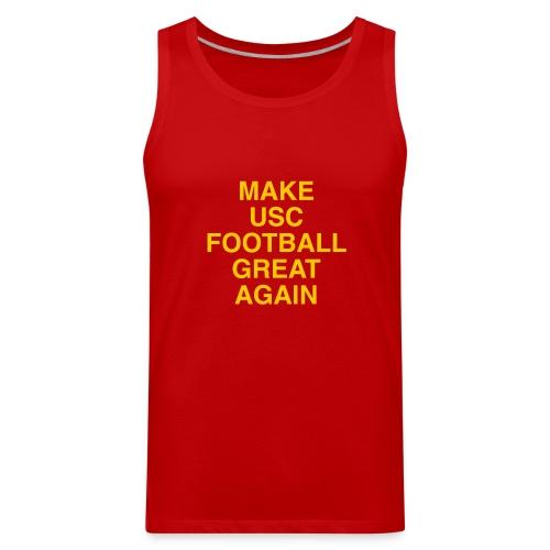 Make USC Football Great Again - Men's Premium Tank