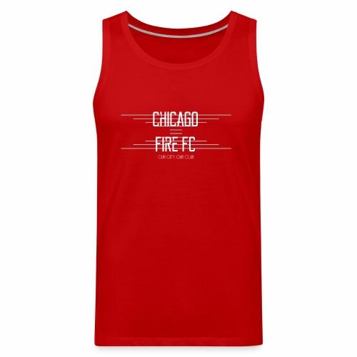 Chicago Fire - Men's Premium Tank