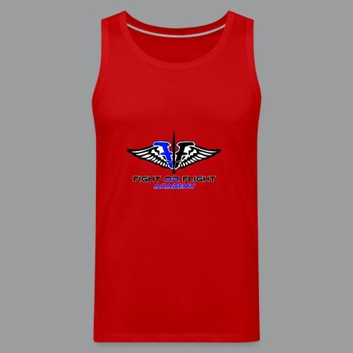 Fight or Flight Academy Logo - Men's Premium Tank