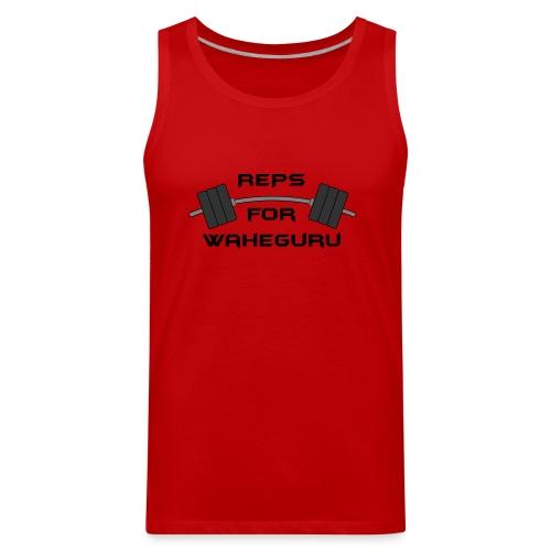 REPS FOR WAHEGURU - Men's Premium Tank