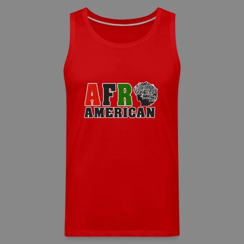 Afro American RBG - Men's Premium Tank