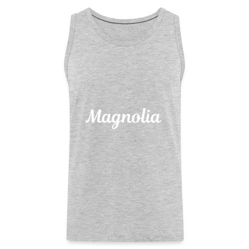 Magnolia Abstract Design. - Men's Premium Tank