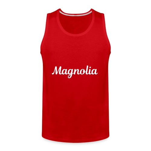 Magnolia Abstract Design. - Men's Premium Tank