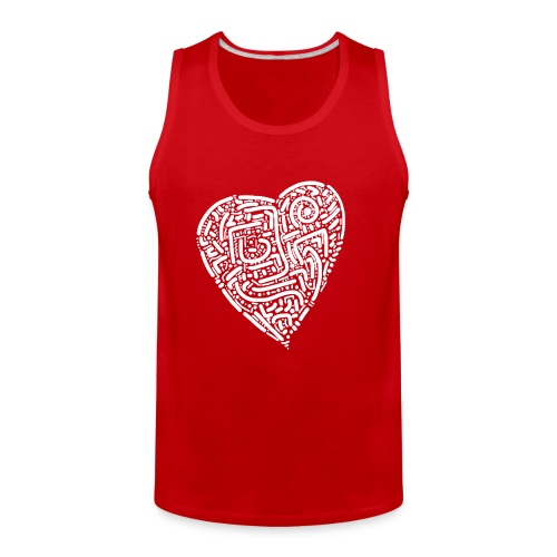 HEART - Men's Premium Tank