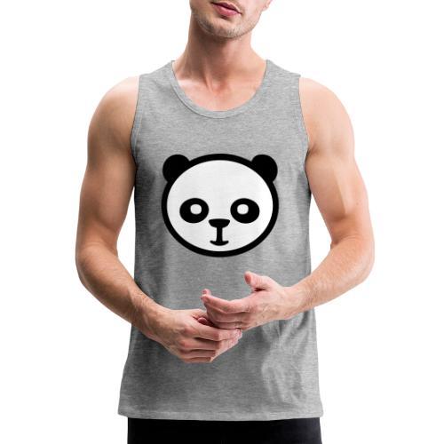 Panda bear, Big panda, Giant panda, Bamboo bear - Men's Premium Tank