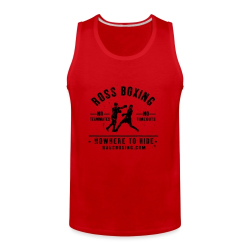 rossboxing_black - Men's Premium Tank