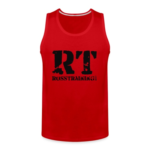 main_rt_black - Men's Premium Tank