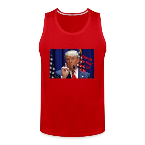 Knock the hell out of isis - Men's Premium Tank