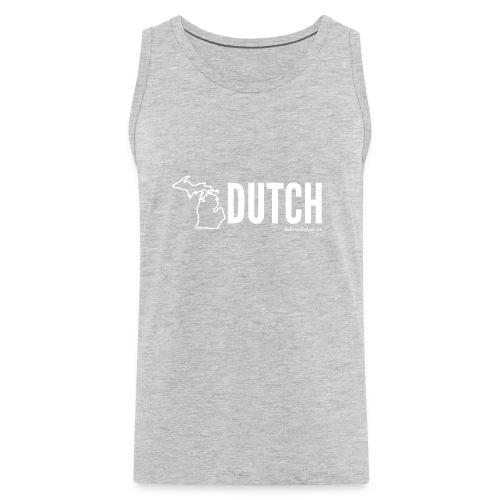 Michigan Dutch (white) - Men's Premium Tank