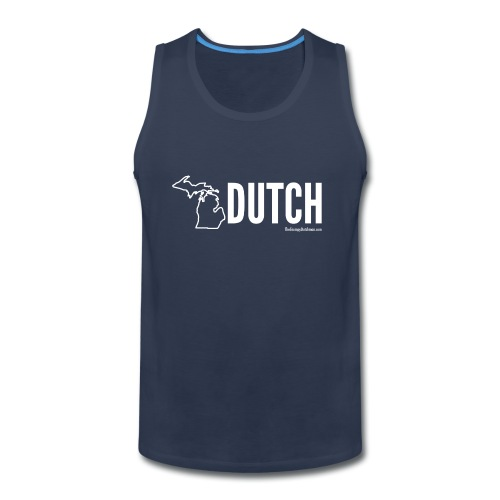 Michigan Dutch (white) - Men's Premium Tank