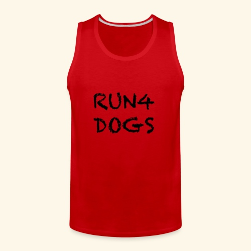 RUN4DOGS NAME - Men's Premium Tank