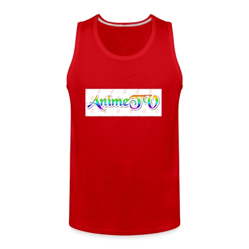 AnimeTV Fan T-Shirt - Men's Premium Tank