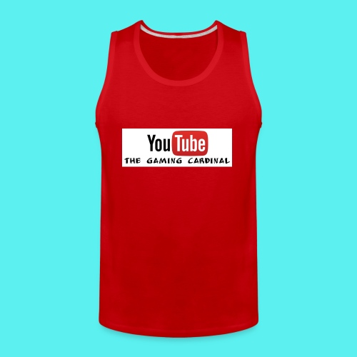 Youtube temp logo - Men's Premium Tank
