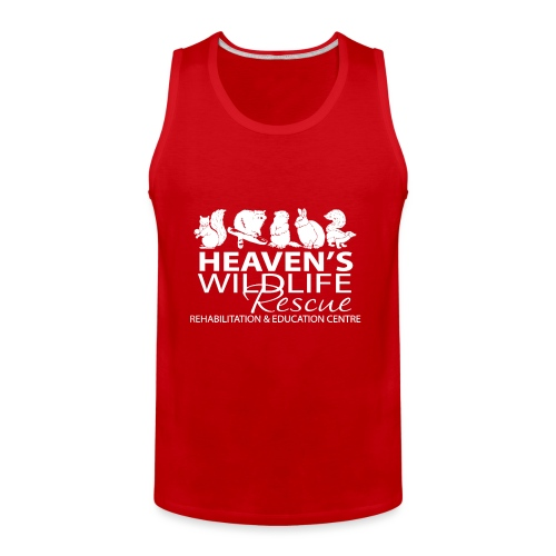 HWR White - Men's Premium Tank