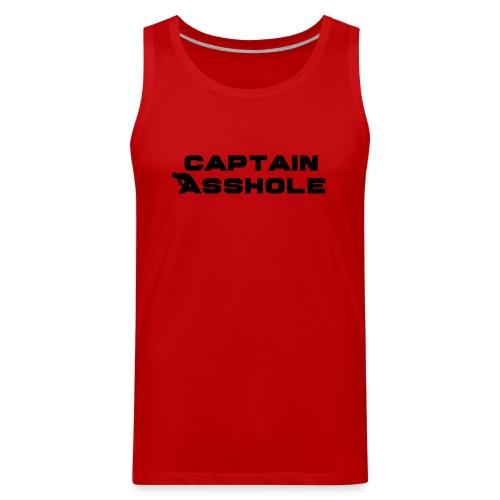Captain A-hole - Men's Premium Tank
