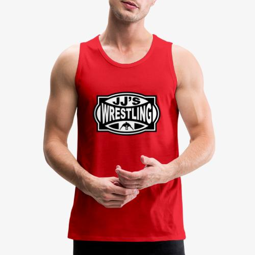 JJs Club Wrestling Logo Mono - Men's Premium Tank