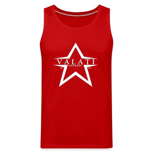V-Star White - Men's Premium Tank