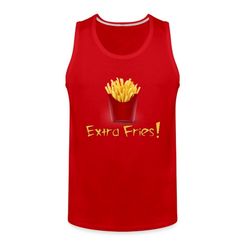 Extra Love French Fries Day 2 - Men's Premium Tank