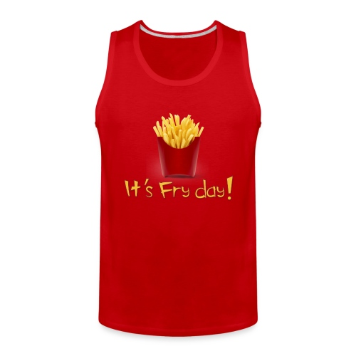 Extra Love French Fries Day 1 - Men's Premium Tank
