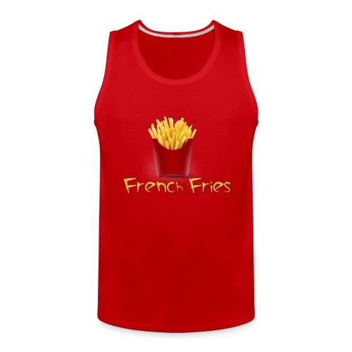 Extra Love French Fries Day 3 - Men's Premium Tank