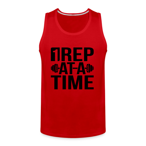 1Rep at a Time - Men's Premium Tank