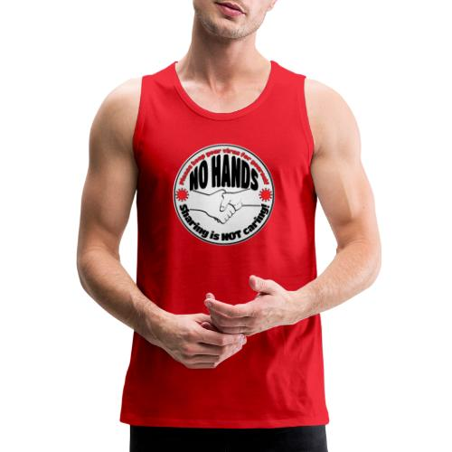 Virus - Sharing is NOT caring! - Men's Premium Tank