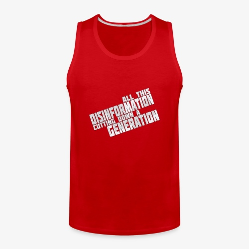 Disinformation - Men's Premium Tank