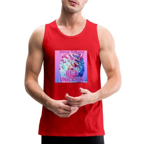 Never To Lazy To Be A Unicorn - Men's Premium Tank