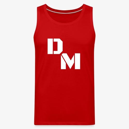 D-M Logo - Men's Premium Tank