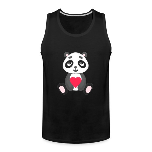 Sweetheart Panda - Men's Premium Tank