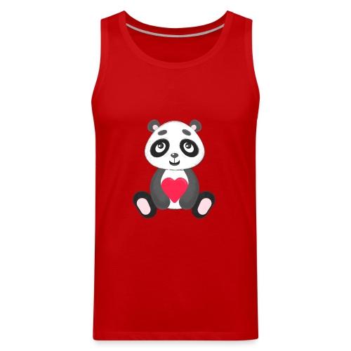 Sweetheart Panda - Men's Premium Tank