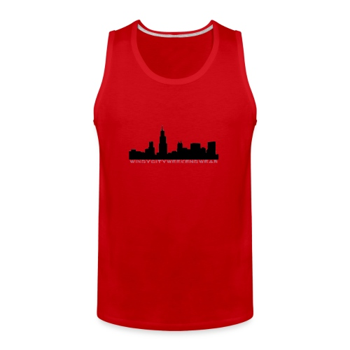 City Box Logo - Men's Premium Tank