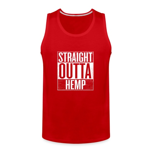 Straight Outta Hemp - Men's Premium Tank