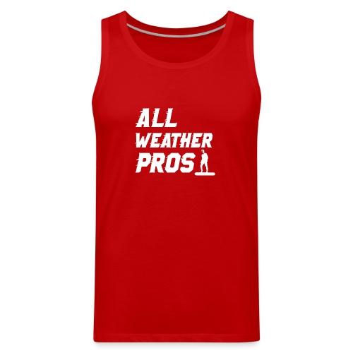 Messenger 841 All Weather Pros Logo T-shirt - Men's Premium Tank