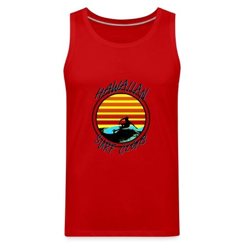 Hawaiian Surf Club - Men's Premium Tank