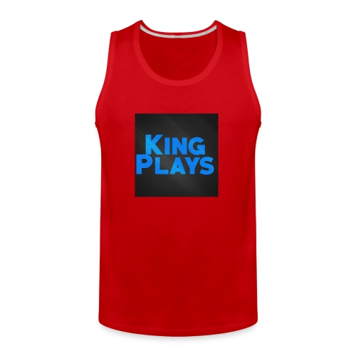 New King plays Logo Art - Men's Premium Tank