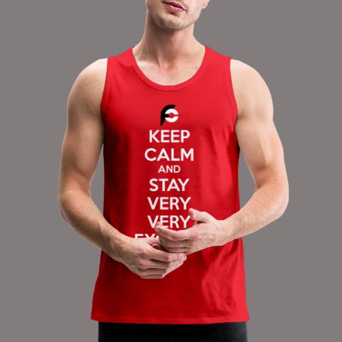 STAY EXCITED Spreadshirt - Men's Premium Tank